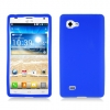 LG Optimus 4X HD Blue Skin