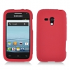 Samsung Galaxy Rush Red Skin