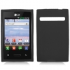 LG Optimus Logic Black Skin