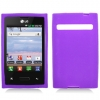 LG Optimus Logic Purple Skin