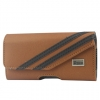Samsung Galaxy S III Twill Brown Pouch